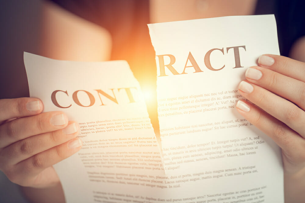 Waiving the Right to Terminate a Contract